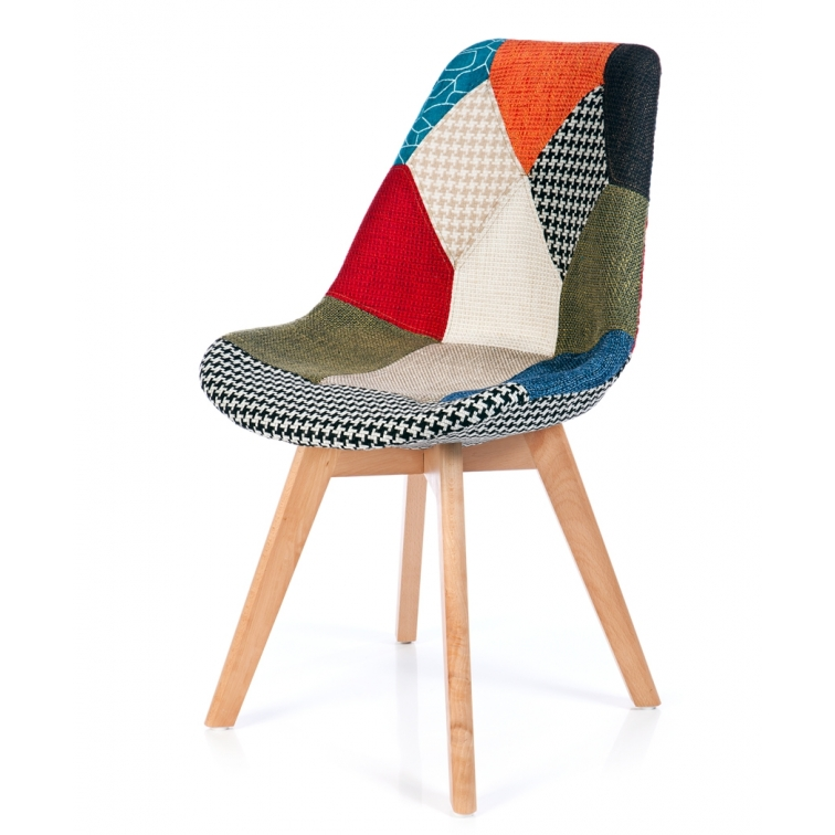 Sedia verona patchwork sedie da disegno furnmod for Sedie design verona
