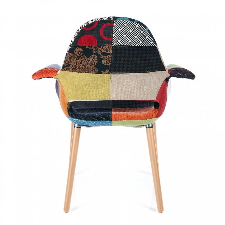 Sedia osteen patchwork sedie da disegno furnmod for Sedia design patchwork