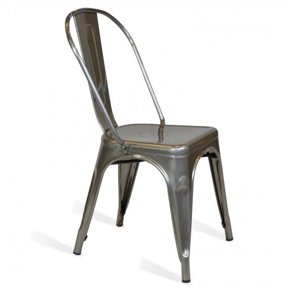 Sedia industriale bistro style new edition sedie da for Sedia design amazon
