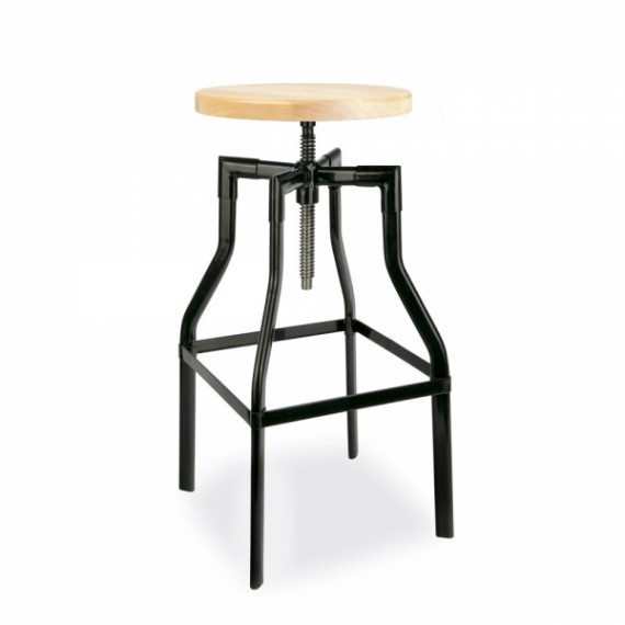 Taburete Swivel Stool 65-83 cm