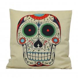 Cuscino Skull Multicolor