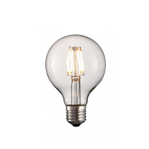 Bombilla Round LED 4W 4 led con soporte E27 y 220-240V