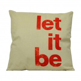 Cuscino Let it Be