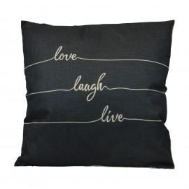 Cuscino Love Laugh Live