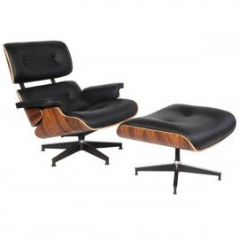 Poltrona James Lounge Chair HM Inspiration in Ecopelle