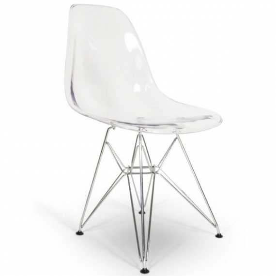 furmod Silla Eames DSR Inspirada Transparente