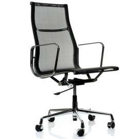 Sedia da ufficio Replica in alluminio EA108 di Charles & Ray Eames.