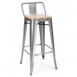 Sgabello industriale Bistro LB Wood
