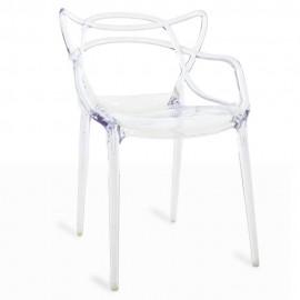 Inspirazione sedia trasparente Masters dell'acclamato designer Philippe Starck