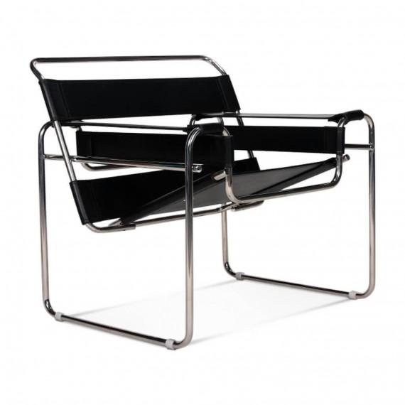 Silla de diseño Vassilly Chair en Piel Italiana