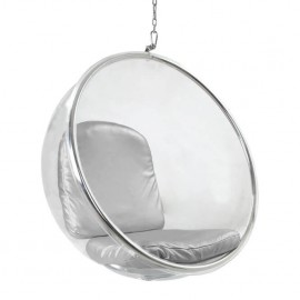 Sedia sospesa Replica Bubble Chair di Eero Aarnio