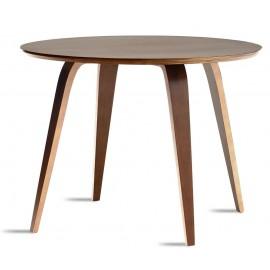 Tavolo da Pranzo Cherner 120cm Fatto a Mano in Legno Curvato