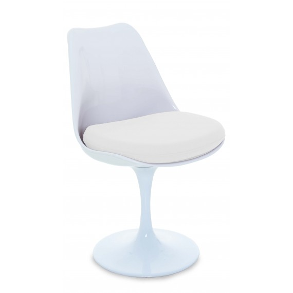 Replica della sedia Tulip chair del famoso designer Eero Saarinen