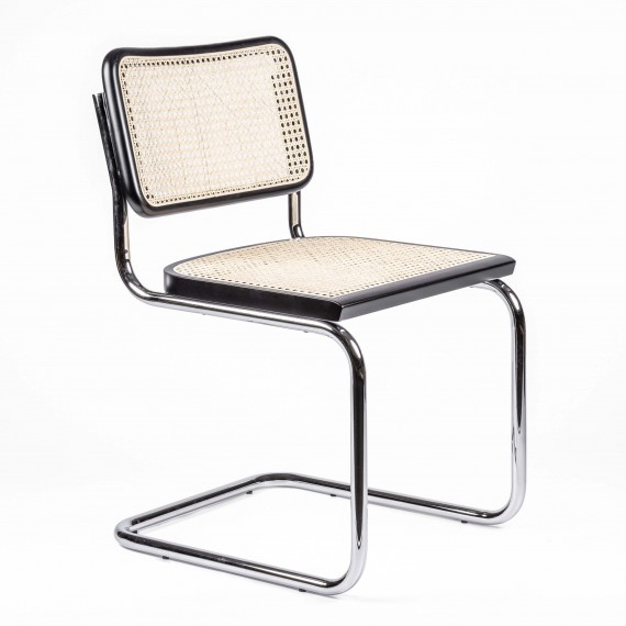 Replica della sedia Cesca del designer Marcel Breuer