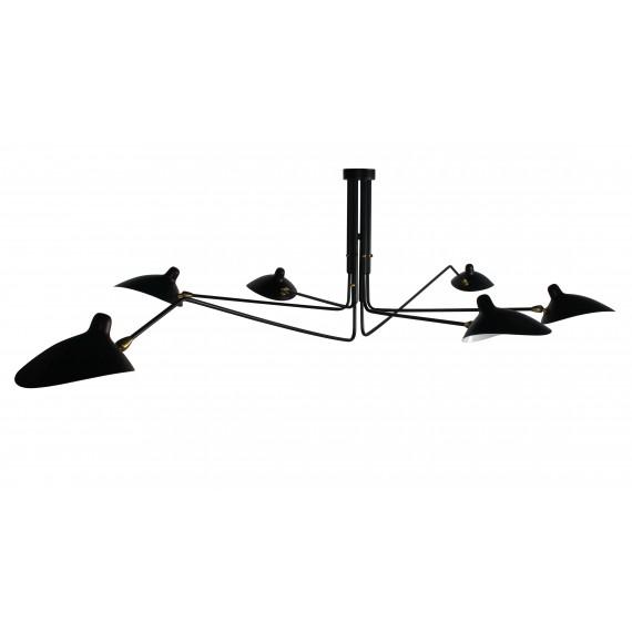 Ispirazione dalla Lampada Mouille Pendant 6 Arms