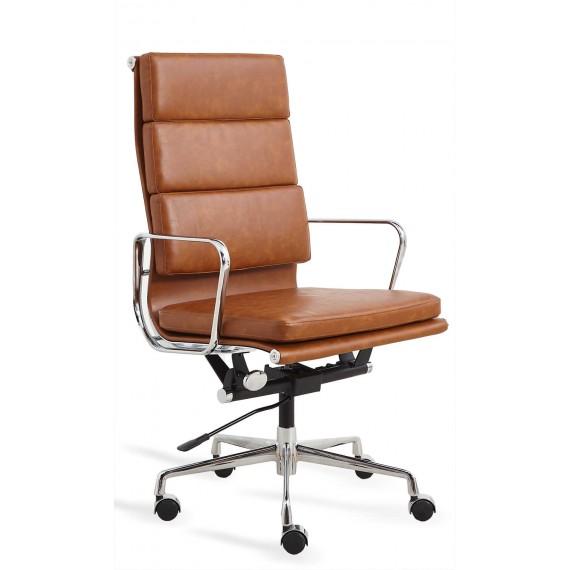 Sedia da ufficio Replica Soft Pad EA219 in similpelle consumata