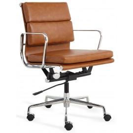 Replica della sedia da ufficio Soft Pad in similpelle consumata