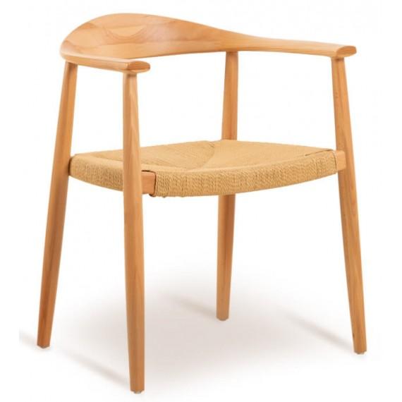 Replica Chair The Chair in frassino e seduta in corda