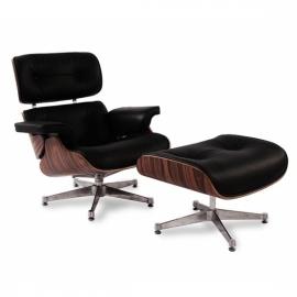 Poltrona James Lounge Chair Ecopelle