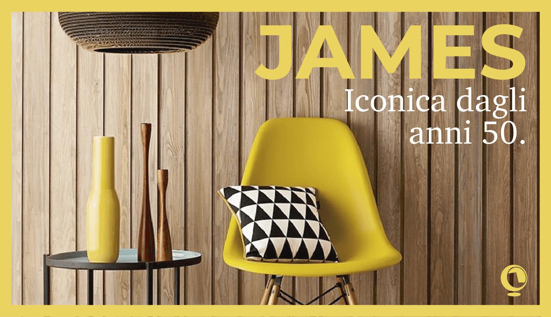 Collezione James, iconica dagli anni 50