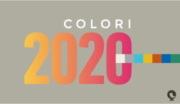 Tendenze cromatiche nell'arredamento per l'anno 2020