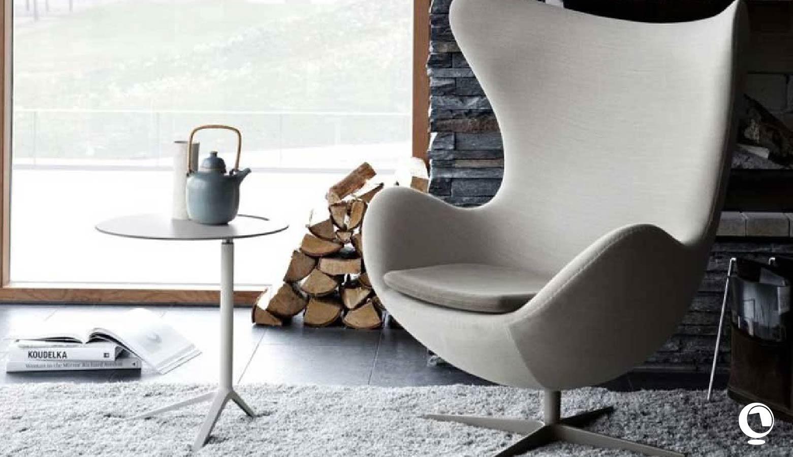 Egg Chair, le fauteuil œuf de Anne Jacobsen