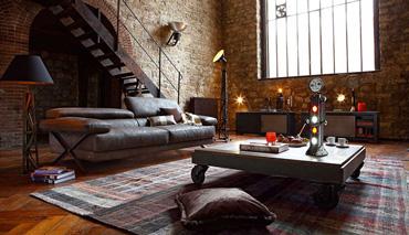 Cos'è lo stile industriale nel design d'interni?